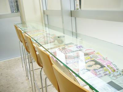豊富な雑誌類/兵庫県姫路市 歯科 歯医者